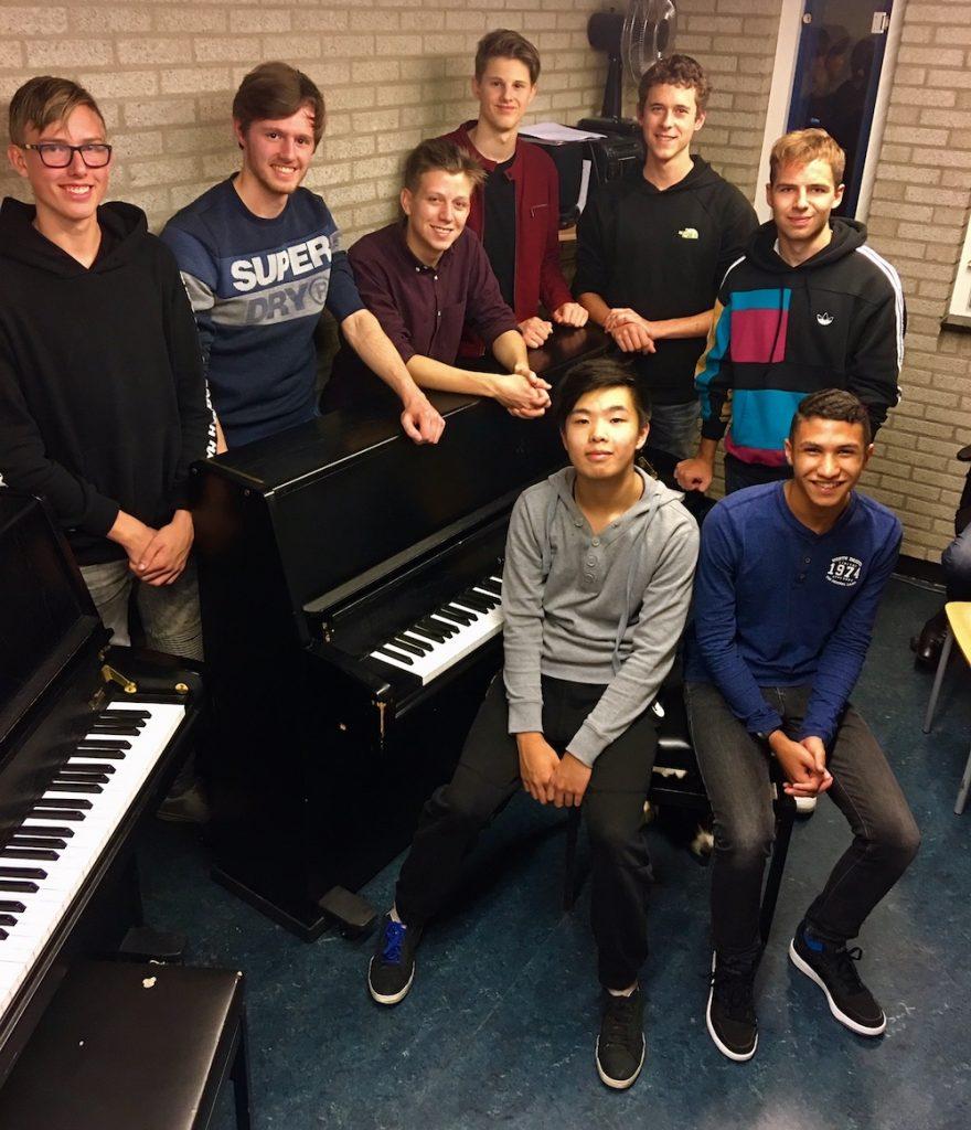 Voor generale pianoleerlingen