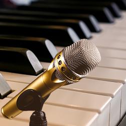 zangles met piano begeleiding